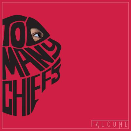 Falcone's artwork for the Too Many Chiefs project