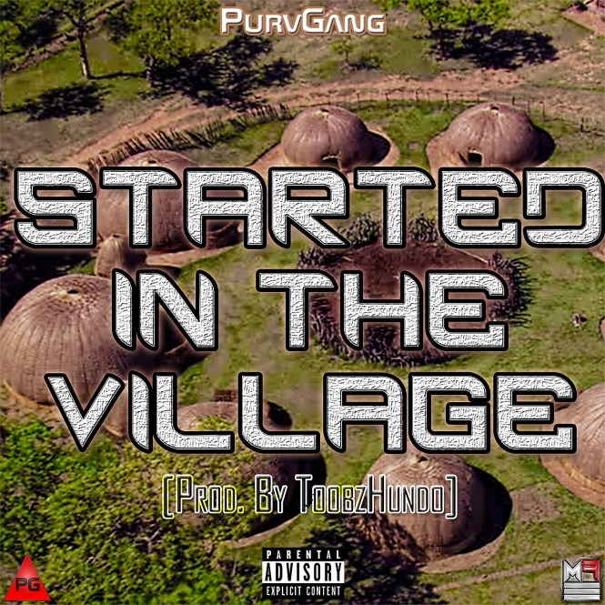 PG - Started In The Village Cover